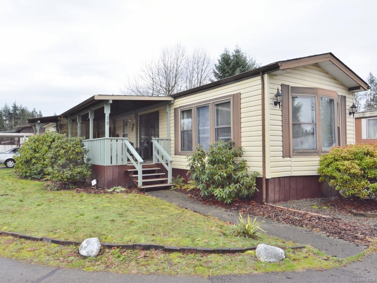 Main Photo: 58 3497 Gibbins Rd in DUNCAN: Du West Duncan Manufactured Home for sale (Duncan)  : MLS®# 831740
