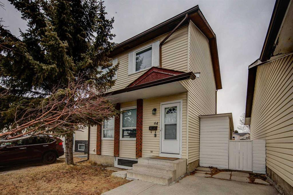 Main Photo: 64 Whitmire Road NE in Calgary: Whitehorn Detached for sale : MLS®# A1055737