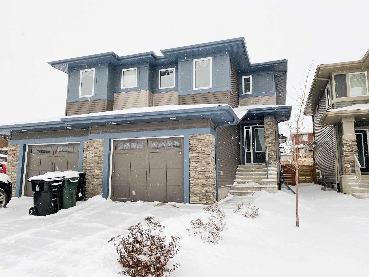 Main Photo: 55 KENSINGTON Close: Spruce Grove House Half Duplex for sale : MLS®# E4171993