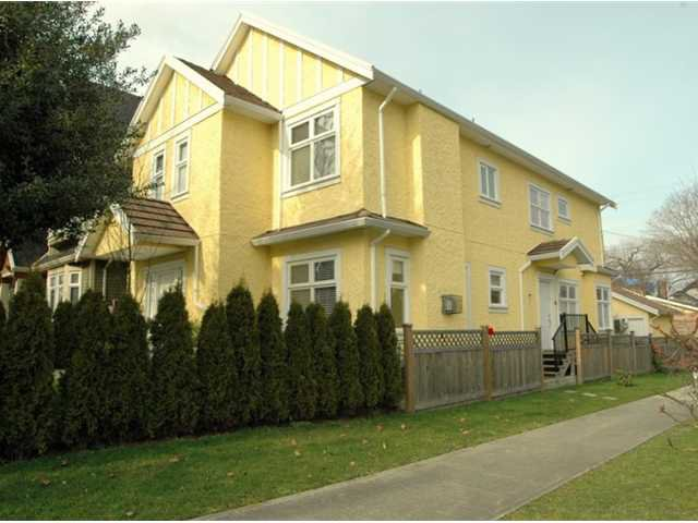 Main Photo: 291 E 24TH Avenue in Vancouver: Main House 1/2 Duplex for sale (Vancouver East)  : MLS®# V868801