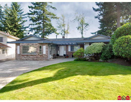Main Photo: 15340 22ND Avenue in Surrey: King George Corridor House for sale (South Surrey White Rock)  : MLS®# F2825777
