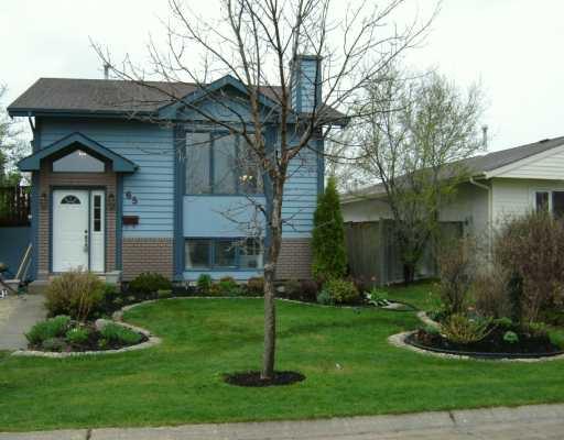 Main Photo: 65 PAYMENT Street in WINNIPEG: Fort Garry / Whyte Ridge / St Norbert Single Family Detached for sale (South Winnipeg)  : MLS®# 2606434