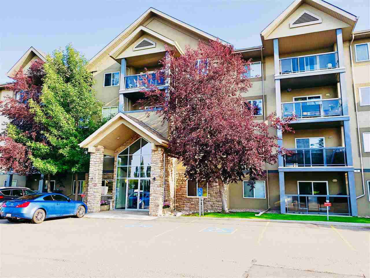 Main Photo: 203 279 SUDER GREENS Drive in Edmonton: Zone 58 Condo for sale : MLS®# E4168042