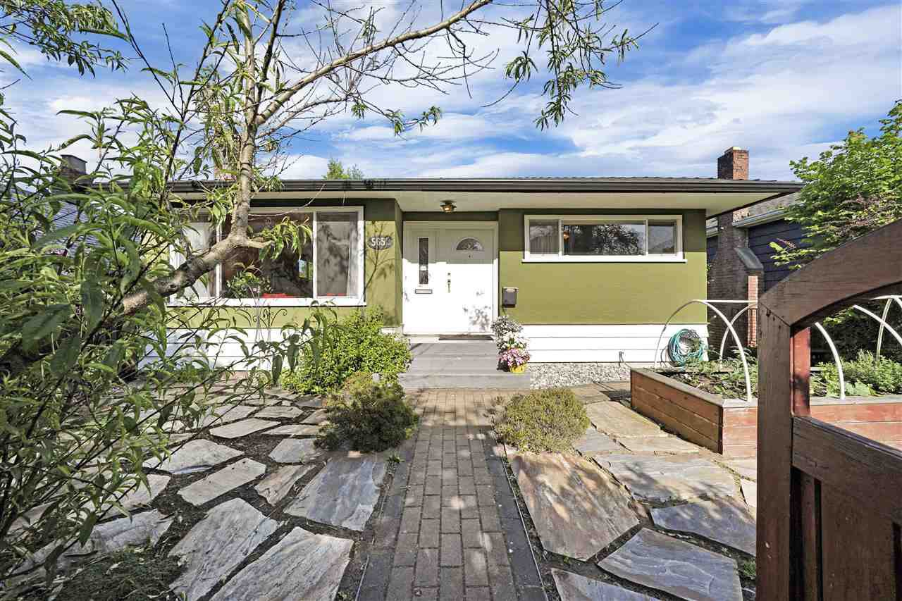 Main Photo: 5652 CHESTER Street in Vancouver: Fraser VE House for sale (Vancouver East)  : MLS®# R2459698