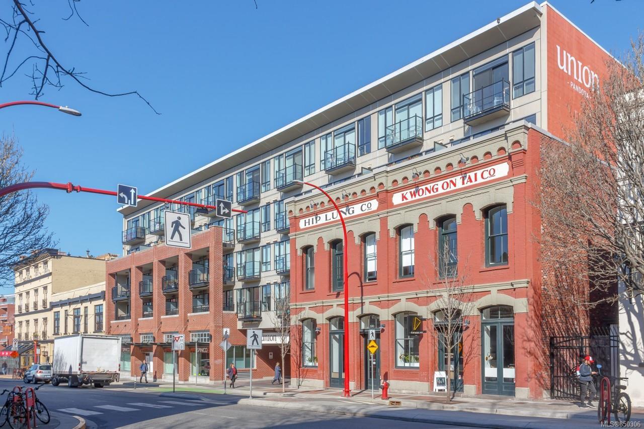 Main Photo: 413 528 Pandora Ave in : Vi Downtown Condo Apartment for sale (Victoria)  : MLS®# 850306