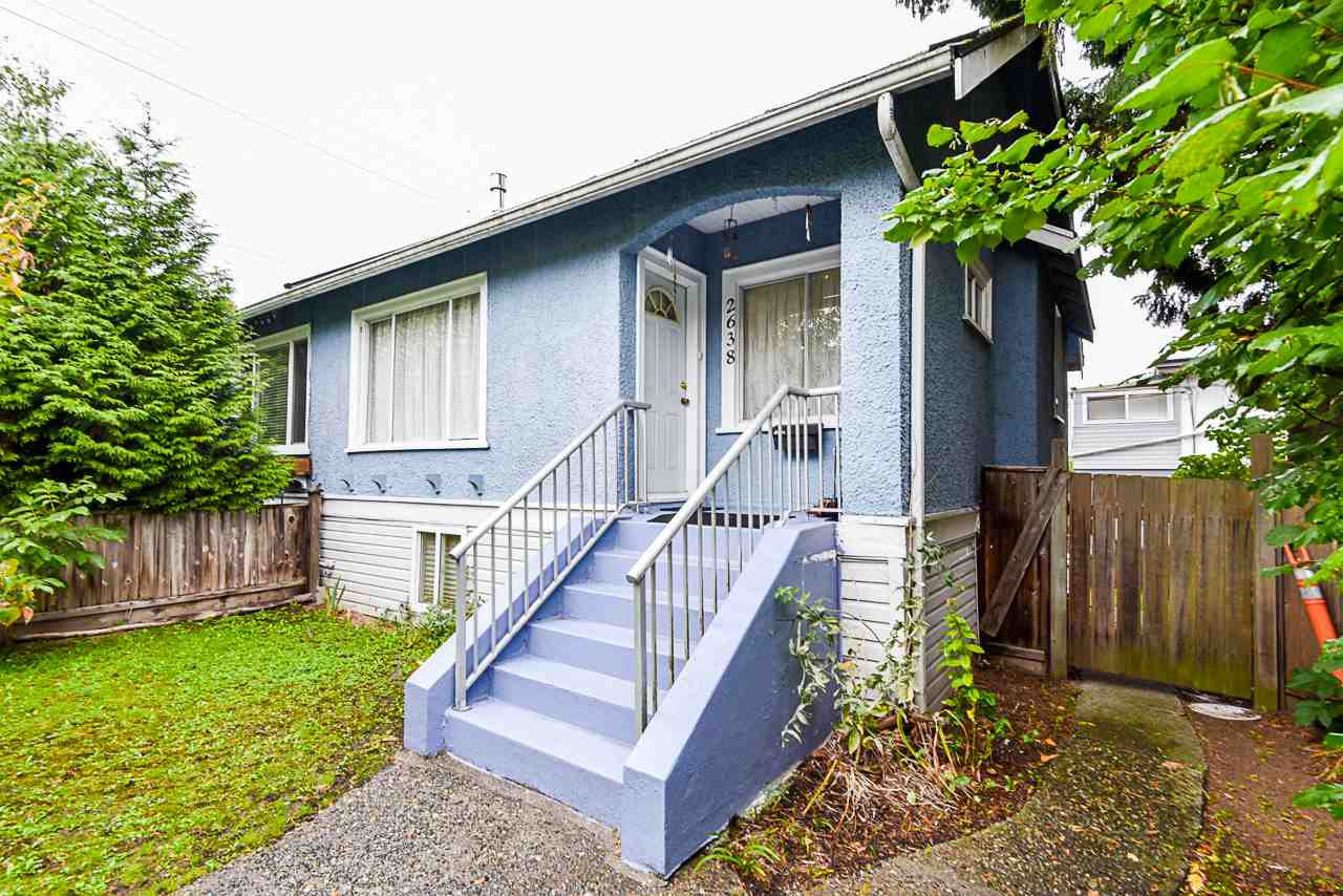 """Main Photo: 2638 ST. CATHERINES Street in Vancouver: Mount Pleasant VE 1/2 Duplex for sale in """"MOUNT PLEASANT"""" (Vancouver East)  : MLS®# R2508470"""