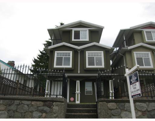 Main Photo: 1956 NANAIMO Street in Vancouver: Renfrew VE House for sale (Vancouver East)  : MLS®# V728884