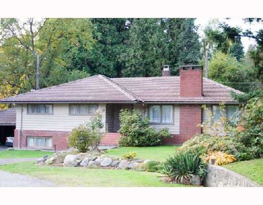 Main Photo: 6405 MACKENZIE Place in Vancouver: Kerrisdale House for sale (Vancouver West)  : MLS®# V743102