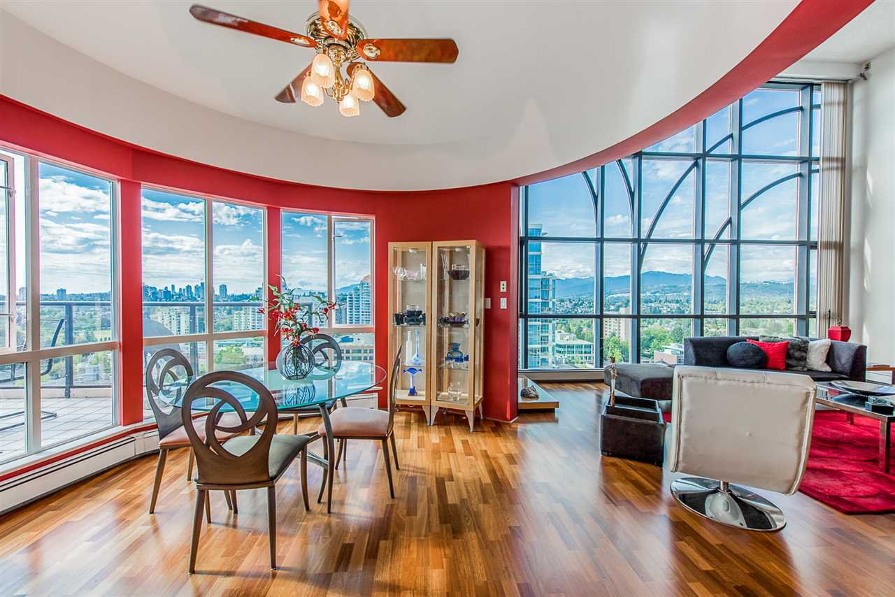 """Main Photo: 2103 612 FIFTH Avenue in New Westminster: Uptown NW Condo for sale in """"THE FIFTH AVENUE"""" : MLS®# R2419678"""