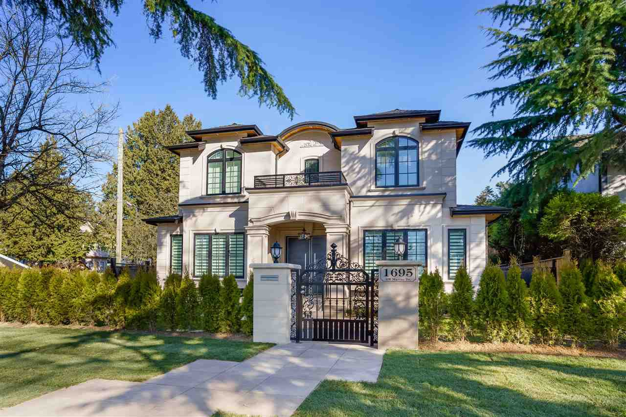 Main Photo: 1695 SW MARINE Drive in Vancouver: S.W. Marine House for sale (Vancouver West)  : MLS®# R2455487