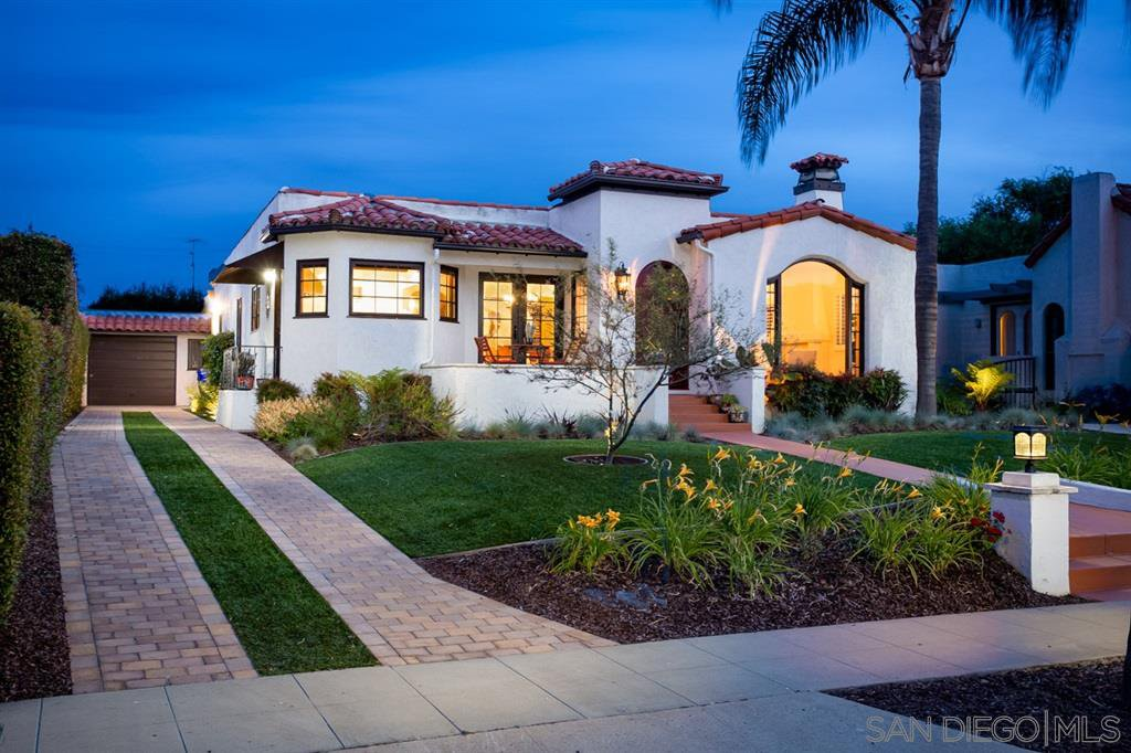 Main Photo: KENSINGTON House for sale : 3 bedrooms : 4221 Middlesex Dr in San Diego