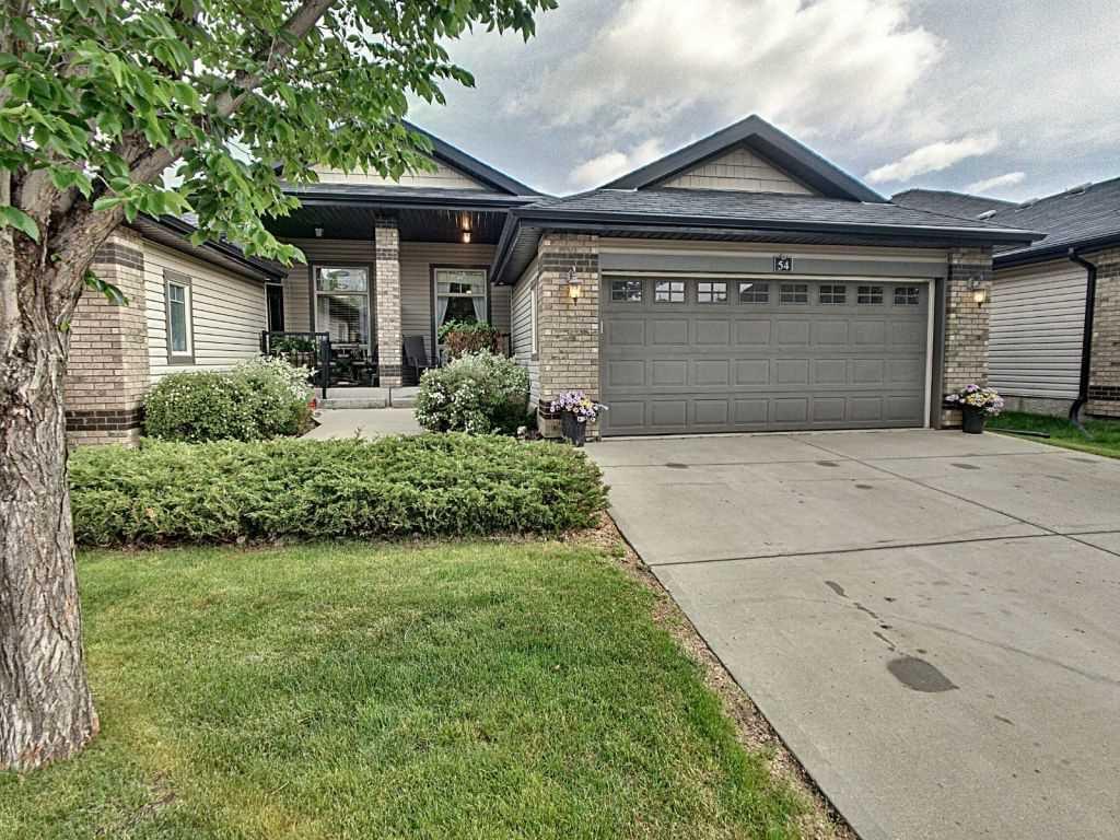Main Photo: 54 276 Cranford Drive: Sherwood Park House Half Duplex for sale : MLS®# E4203483