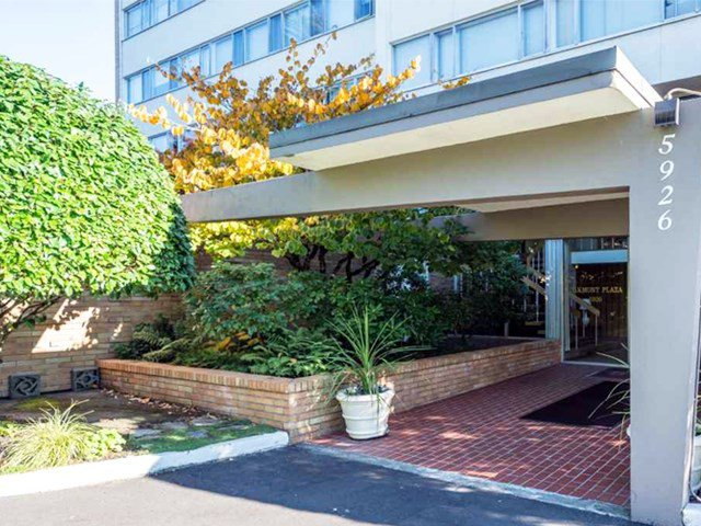 """Main Photo: 203 5926 TISDALL Street in Vancouver: Oakridge VW Condo for sale in """"OAKMONT PLAZA"""" (Vancouver West)  : MLS®# R2514283"""