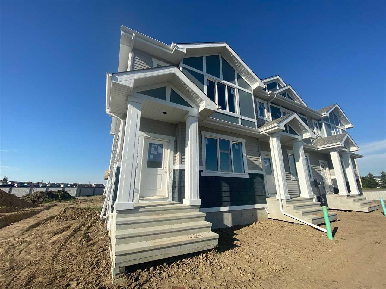 Main Photo: 8506 96 Avenue: Morinville Attached Home for sale : MLS®# E4210850