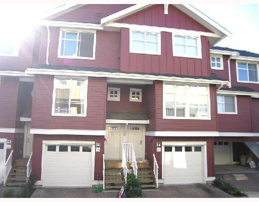 """Main Photo: 124 935 EWEN Avenue in New_Westminster: Queensborough Townhouse for sale in """"COOPER'S LANDING"""" (New Westminster)  : MLS®# V779286"""