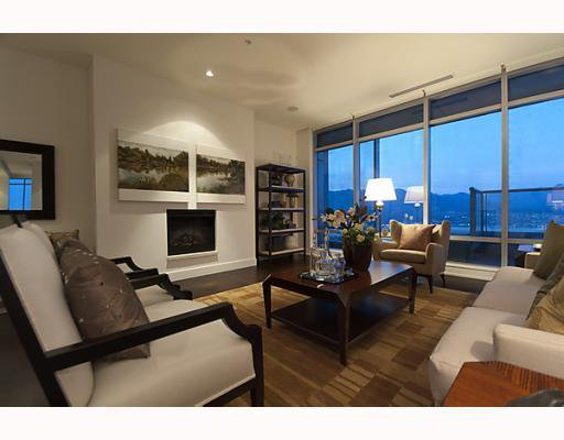"""Main Photo: 5503 1128 W GEORGIA Street in Vancouver: West End VW Condo for sale in """"Shangri-La"""" (Vancouver West)  : MLS®# V780248"""