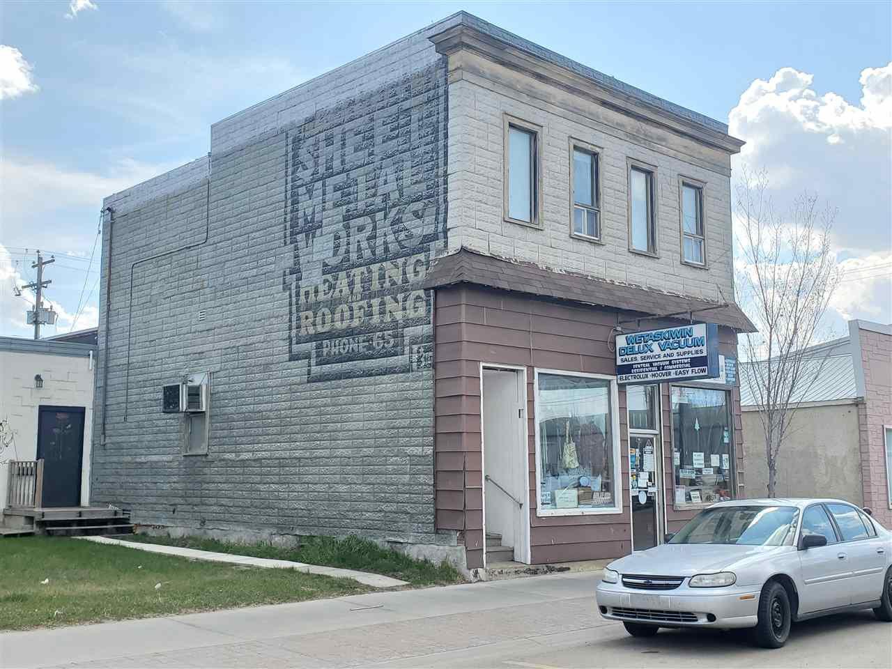 Main Photo: 4809 50 Avenue: Wetaskiwin Retail for sale : MLS®# E4183694