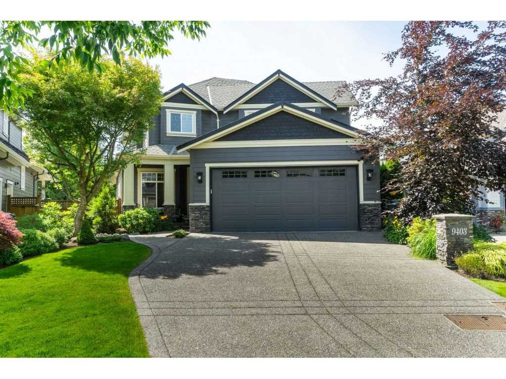 """Main Photo: 9403 207A Street in Langley: Walnut Grove House for sale in """"Shaughnessy Woods"""" : MLS®# R2474726"""