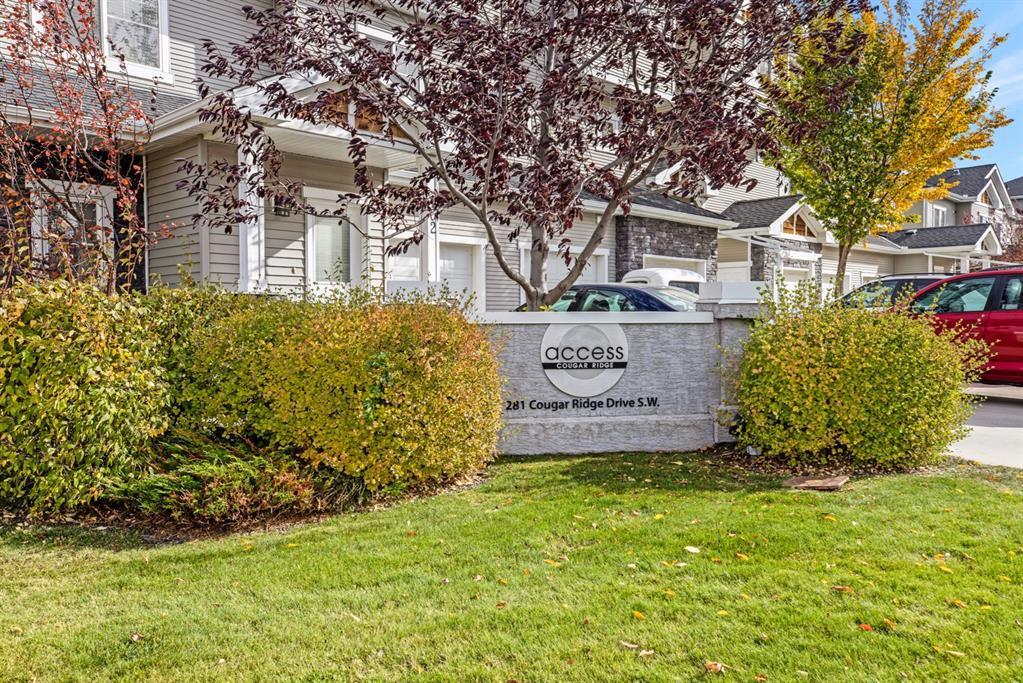 Photo 2: Photos: 1501 281 Cougar Ridge Drive SW in Calgary: Cougar Ridge Row/Townhouse for sale : MLS®# A1040162