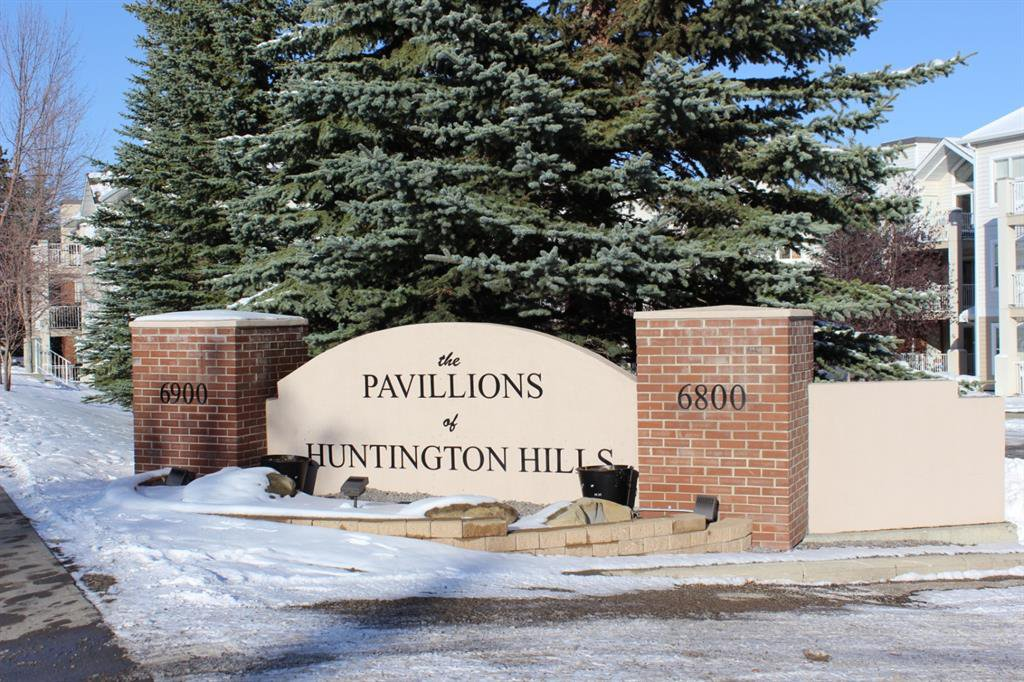 Main Photo: 106 6800 Hunterview Drive NW in Calgary: Huntington Hills Apartment for sale : MLS®# A1044806