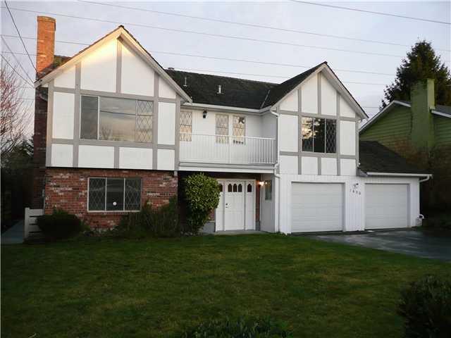 """Photo 1: Photos: 1650 53A Street in Tsawwassen: Cliff Drive House for sale in """"TSAWWASSEN HEIGHTS"""" : MLS®# V867335"""