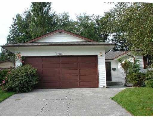 Main Photo: 22520 LEE Avenue in Maple_Ridge: East Central House for sale (Maple Ridge)  : MLS®# V730638