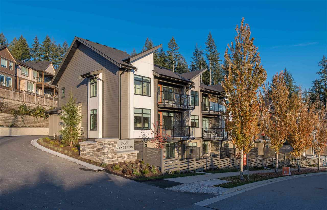 Main Photo: 10 3535 PRINCETON Avenue in Coquitlam: Burke Mountain Townhouse for sale : MLS®# R2471552