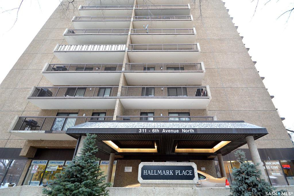 Main Photo: 403 311 6th Avenue in Saskatoon: Central Business District Residential for sale : MLS®# SK837420