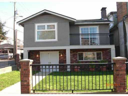 Main Photo: 7028 BERKELEY Street in Vancouver: Fraserview VE House for sale (Vancouver East)  : MLS®# V828686