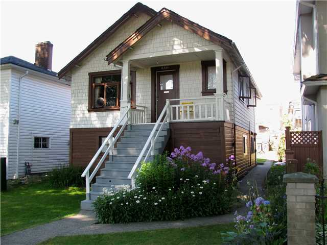 Main Photo: 5321 CHAMBERS Street in Vancouver: Collingwood VE House for sale (Vancouver East)  : MLS®# V858933