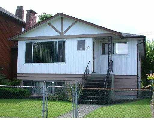 Main Photo: 4132 ETON ST in Burnaby: Vancouver Heights House for sale (Burnaby North)  : MLS®# V546890