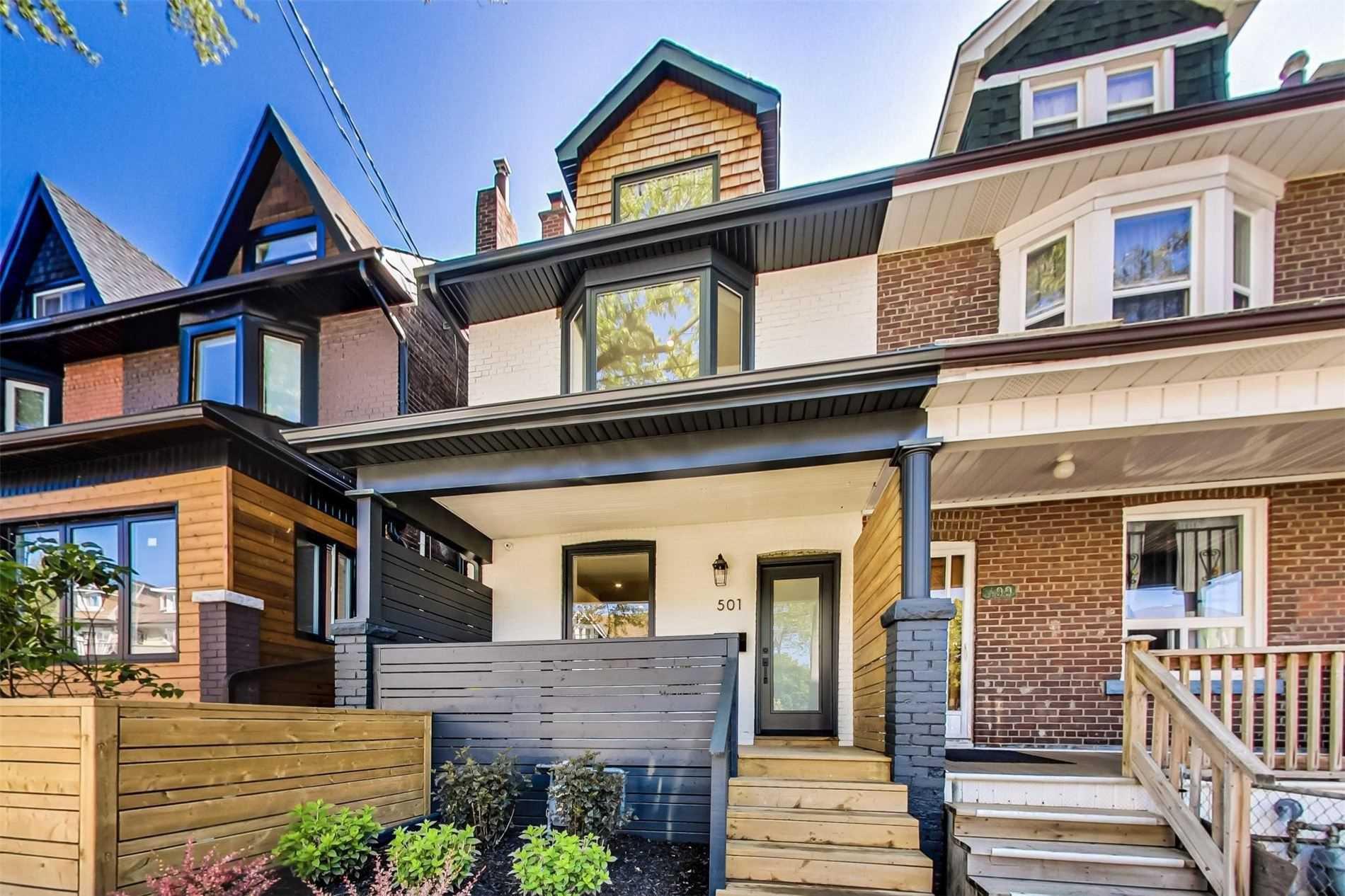 Main Photo: 501B Carlaw Avenue in Toronto: South Riverdale House (2 1/2 Storey) for lease (Toronto E01)  : MLS®# E4800704