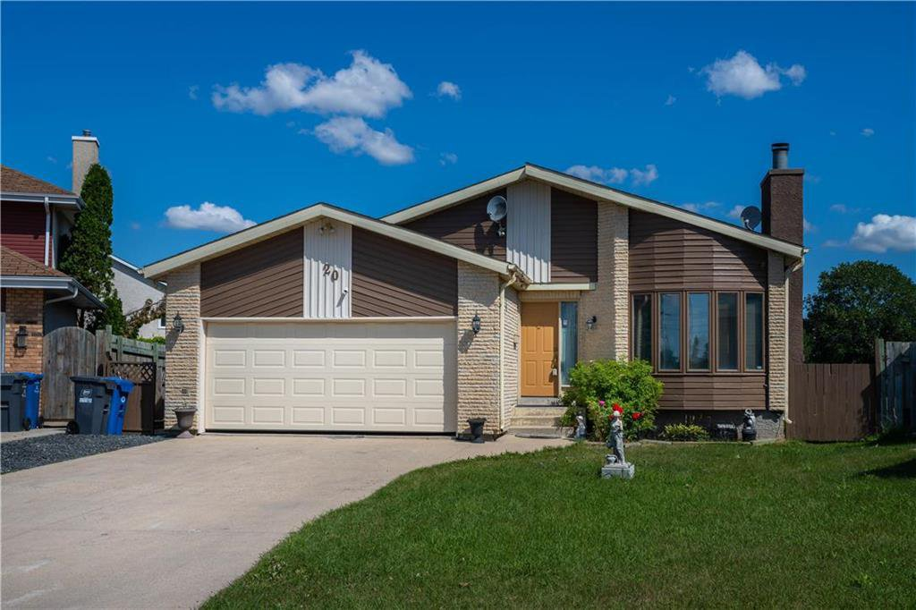 Main Photo: 20 McGurran Place in Winnipeg: Southdale Residential for sale (2H)  : MLS®# 202014760