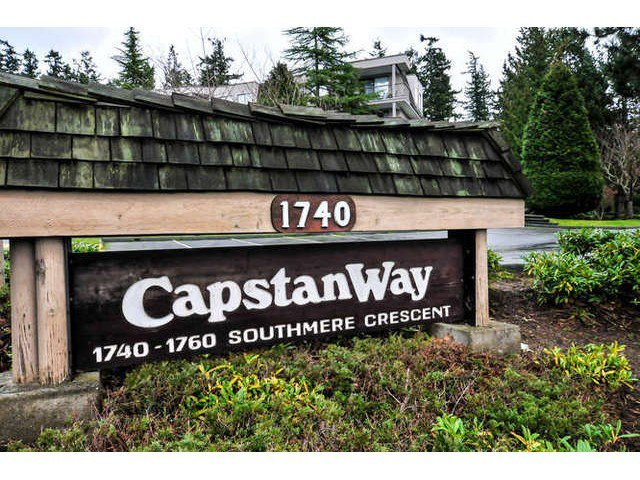 Main Photo: 202 1740 SOUTHMERE CR in Surrey: Home for sale : MLS®# F1432054