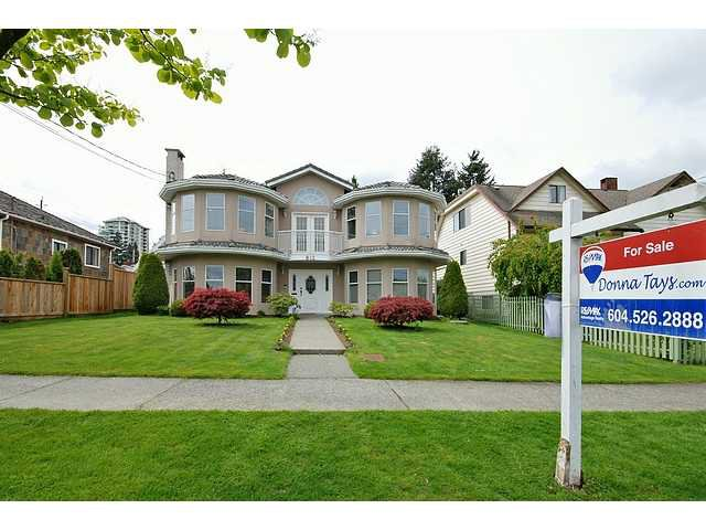 Main Photo: 812 4TH Street in New Westminster: GlenBrooke North House for sale : MLS®# V827407