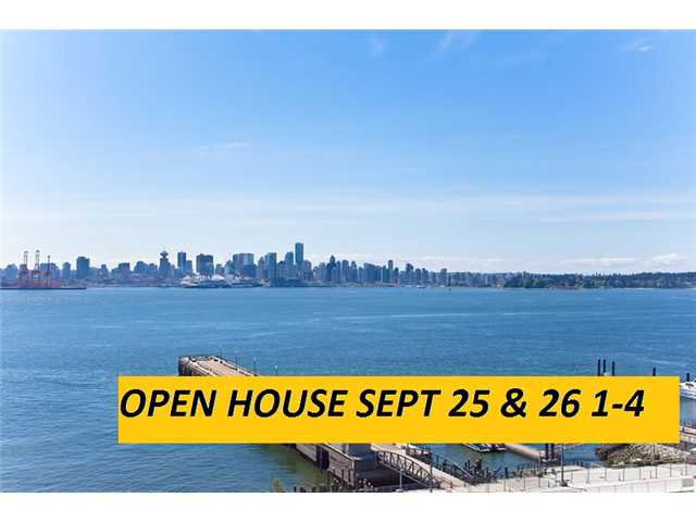 """Main Photo: 1104 162 VICTORY SHIP Way in North Vancouver: Lower Lonsdale Condo for sale in """"ATRIUM WEST AT THE PIER"""" : MLS®# V829412"""