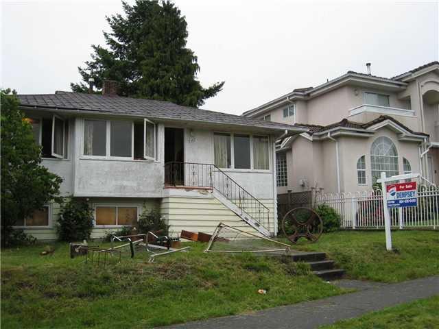 """Main Photo: 7367 JASPER in Vancouver: Fraserview VE House for sale in """"FRASERVIEW"""" (Vancouver East)  : MLS®# V836598"""