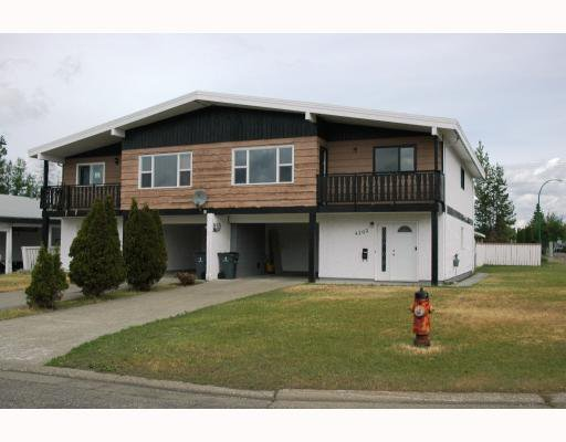 Main Photo: 4204 QUENTIN Avenue in Prince_George: Lakewood House Duplex for sale (PG City West (Zone 71))  : MLS®# N193049