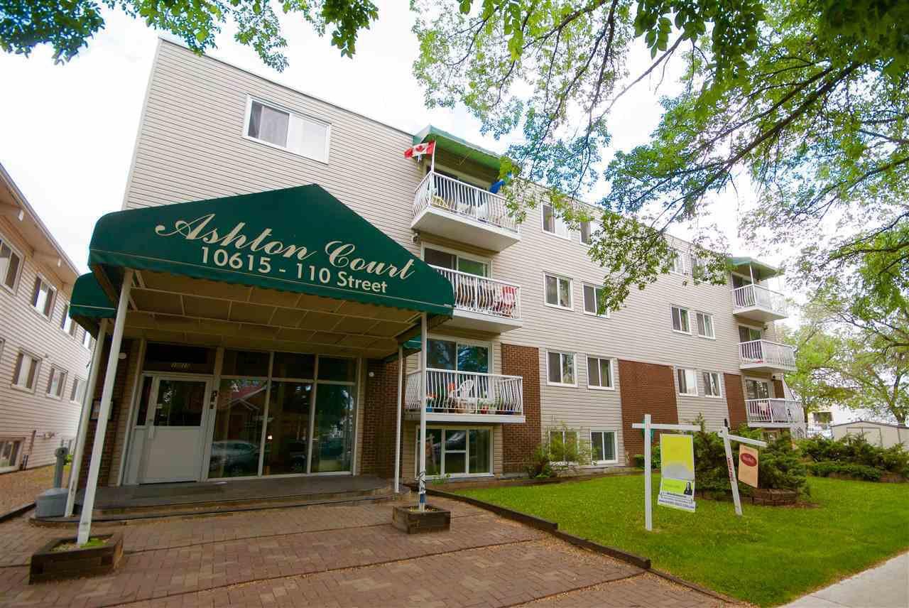 Main Photo: 402 10615 110 Street in Edmonton: Zone 08 Condo for sale : MLS®# E4171578