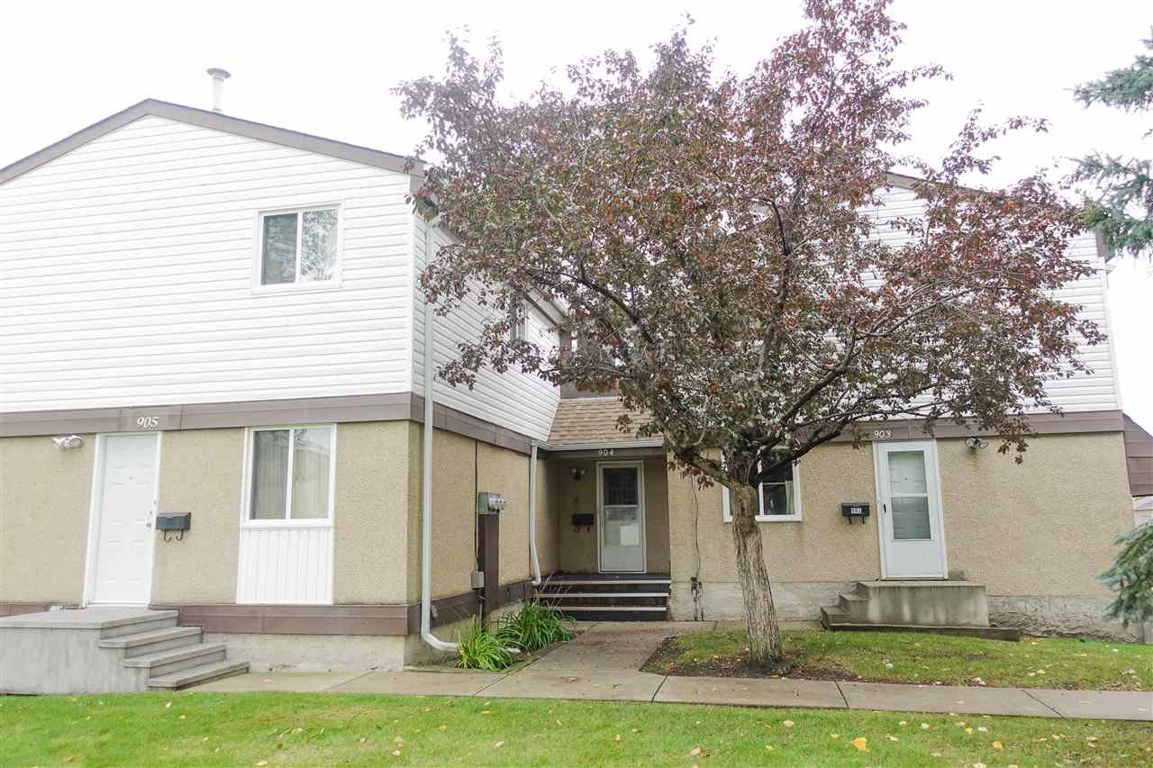 Main Photo: 904 ERIN Place in Edmonton: Zone 20 Townhouse for sale : MLS®# E4173055