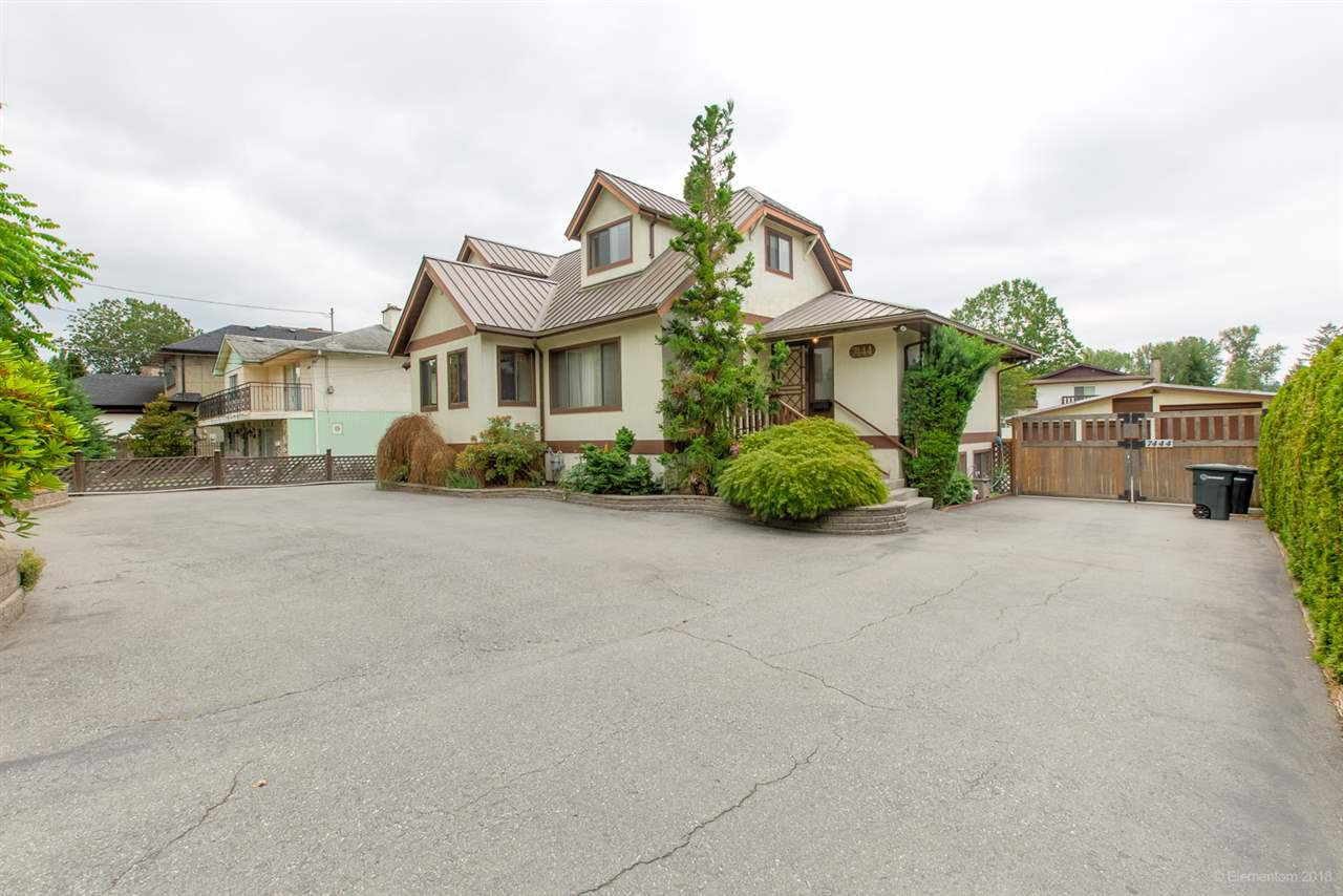 "Main Photo: 7444 GOVERNMENT Road in Burnaby: Government Road House for sale in ""Government Road Area"" (Burnaby North)  : MLS®# R2416038"