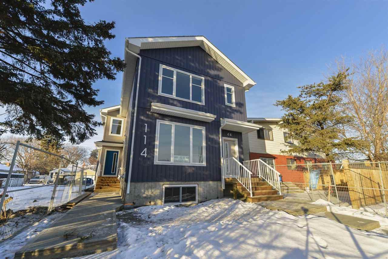 Main Photo: 11442 82 Street in Edmonton: Zone 05 House Half Duplex for sale : MLS®# E4183919