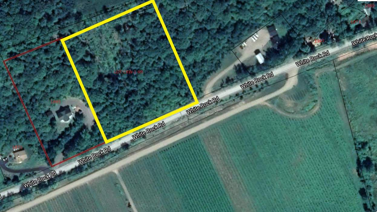 Main Photo: CKW-1-99 White Rock Road in Gaspereau: 404-Kings County Vacant Land for sale (Annapolis Valley)  : MLS®# 202000902