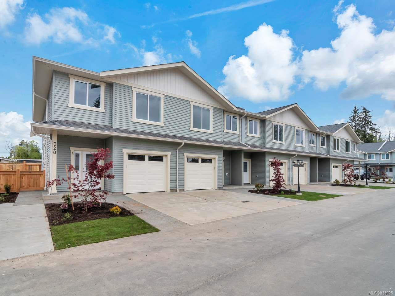 Main Photo: A 328 Petersen Rd in CAMPBELL RIVER: CR Campbell River West Row/Townhouse for sale (Campbell River)  : MLS®# 835935