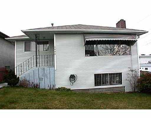 Main Photo: 3695 E 29TH AV in Vancouver: Renfrew Heights House for sale (Vancouver East)  : MLS®# V586868