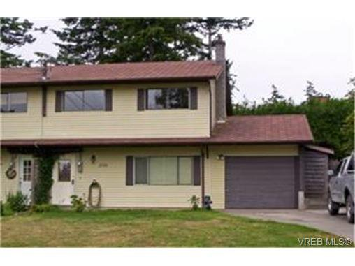 Main Photo: 2176 S French Road in SOOKE: Sk Broomhill Strata Duplex Unit for sale (Sooke)  : MLS®# 233961
