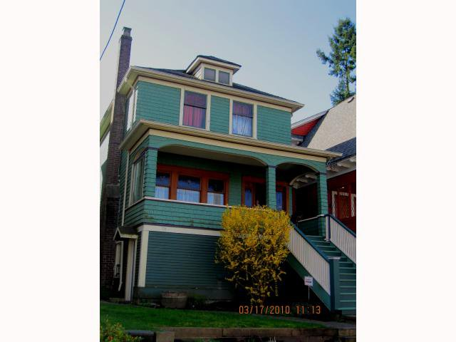 Main Photo: 1562 E 13TH Avenue in Vancouver: Grandview VE House for sale (Vancouver East)  : MLS®# V817347