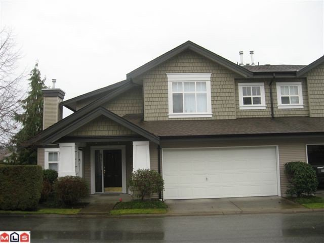 """Main Photo: 1 14877 33RD Avenue in Surrey: King George Corridor Townhouse for sale in """"Sandhurst"""" (South Surrey White Rock)  : MLS®# F1100293"""