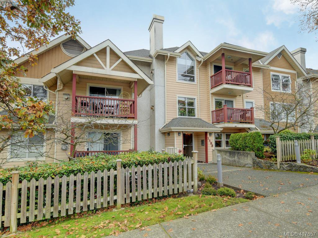 Main Photo: 205 1593 Begbie Street in VICTORIA: Vi Fernwood Condo Apartment for sale (Victoria)  : MLS®# 417657