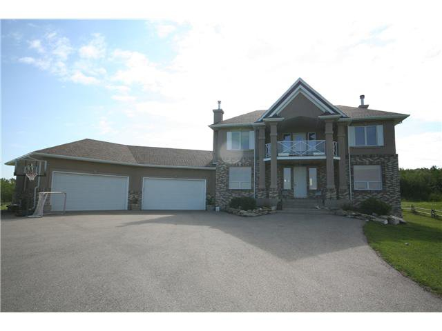 Main Photo: 31165 Woodland Way in CALGARY: Rural Rocky View MD Residential Detached Single Family for sale : MLS®# C3439780
